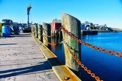 Rockport, het Motief Nr 1 - 7 van Massachusetts van 7 stock afbeeldingen
