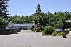 Rockport, am 25. Juni: Gestalten Sie von Rockport in Ontario-Provinz in Kanada landschaftlich Lizenzfreie Stockfotografie
