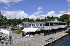 Rockport, am 25. Juni: Rockport-Hafen von Ontario-Provinz in Kanada Stockbild