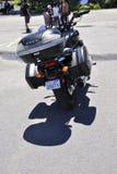 Rockport, am 25. Juni: Honda-Motorrad in Rockport-Parken von Ontario-Provinz in Kanada Lizenzfreie Stockfotos