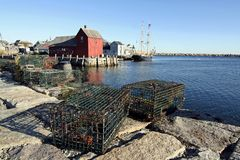 Rockport, le Massachusetts Photos libres de droits