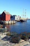 Rockport, le Massachusetts image libre de droits