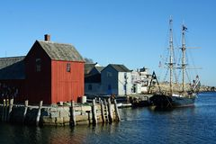 Rockport, le Massachusetts Photo libre de droits