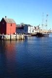 Rockport, le Massachusetts images libres de droits