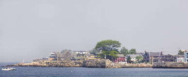 Rockport, MA. Bearskin Neck at ROckport MA Royalty Free Stock Photography