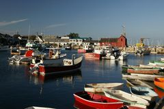 Rockport, MA Stock Image