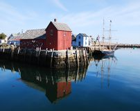 Rockport Massachusetts Royalty Free Stock Images