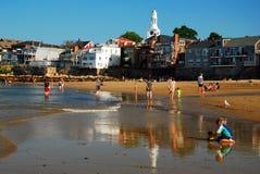Rockport Massachusetts od przód plaży fotografia royalty free