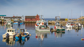 Rockport in Massachusetts, USA Royalty Free Stock Images