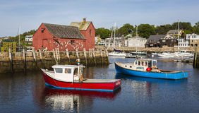 Rockport in Massachusetts, USA Royalty Free Stock Image