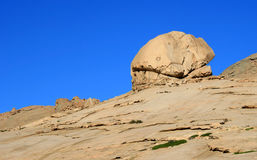 Rocks. In Bektau-Ata, Kazakhstan royalty free stock photography
