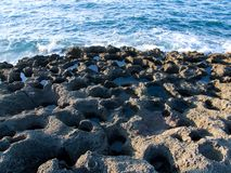 Rocks. Photo about sea waves on the rocks Stock Photos