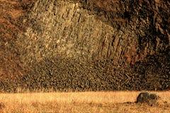 Rocks. On top of it Radobýl Litoměřice Stock Images