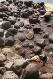 Rocks. A pool of rocks at the river on a sunny day Stock Photos
