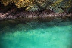 Rocks. On the beach of Santa Comba in the Galician coast , Atlantic Ocean, Spain Royalty Free Stock Photos
