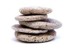 Rocks. Stones stacked upon each other stock photography