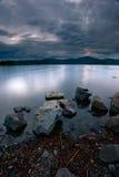 Rocks along Hauser Lake. Royalty Free Stock Photos