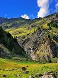 Rocks of alpien mountains Stock Photos