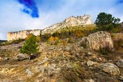 Rocks at Alto Tajo in autumn Royalty Free Stock Photography