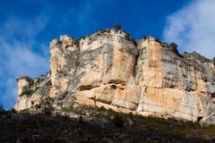 Rocks at Alto Tajo Royalty Free Stock Photography