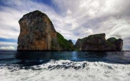 Rocks of Andaman sea Royalty Free Stock Image
