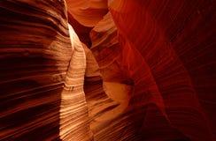 Rocks in Antelope Canyon stock photo