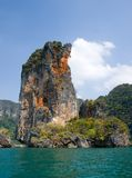 Rocks of Ao Nang. Krabi province, Thailand Royalty Free Stock Images
