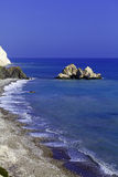 Rocks of Aphrodite, Paphos, Cyprus Royalty Free Stock Photo