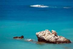 Rocks of Aphrodite, Paphos, Cyprus Royalty Free Stock Photo