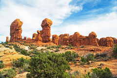 Rocks at Arches Royalty Free Stock Image