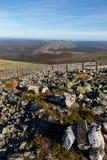 Rocks atop mountain Royalty Free Stock Images