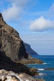 Rocks av Tenerife, Spanien arkivfoto