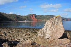 Babbacombe beach Royalty Free Stock Images