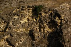 Rocks background, big rocks and small rocks. Sea rocks texture stock photos