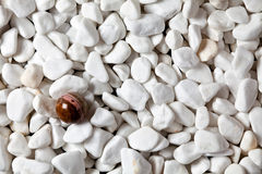 Rocks and ball Royalty Free Stock Images