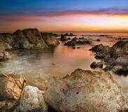 Rocks on the beach Royalty Free Stock Photos