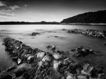 Rocks on the beach Royalty Free Stock Photo