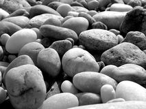 Rocks on the beach Stock Photography