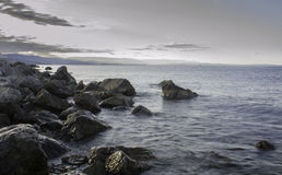 Rocks on The Beach, Croatia Stock Image