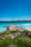 Rocks on the beach, Lucky Bay, Esperance Royalty Free Stock Images
