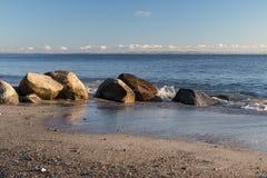 Rocks on the Beach. Rocks on a beach near Aarhus, Denmark Royalty Free Stock Photography