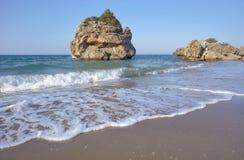 Rocks on the beach Porto Zorro Royalty Free Stock Image