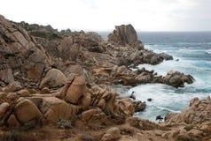 Rocks on the Beach Stock Photo