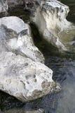 Rocks on Beach. Unique Rocks on beach at Larrabee State Park Bellingham, Washington State, US Stock Photo