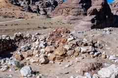 Rocks of Beidha Royalty Free Stock Image