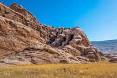 Rocks of Beidha Stock Photo