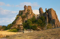 Rocks belogradchik Stock Images