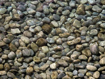 Rocks beneath water Royalty Free Stock Image
