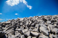Rocks and blue sky Royalty Free Stock Photos
