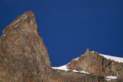 Rocks in the blue sky Stock Image